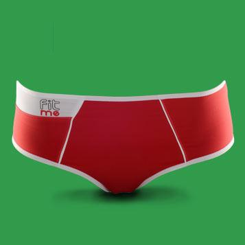 Boxer de sport FITme 2.0 Rouge