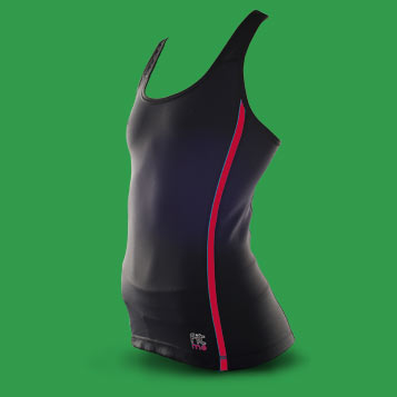 Débardeur de sport FITme filet Rouge